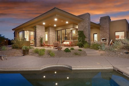 Luxury home in Tortilita Mnt canyon - Marana - Haus
