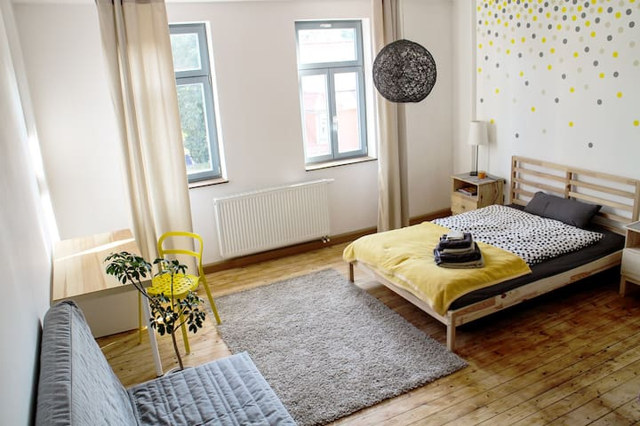 Sonniges Gästezimmer mit Bad - Weimar - Apartment