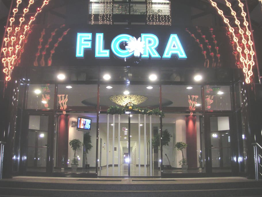 View of Flora building