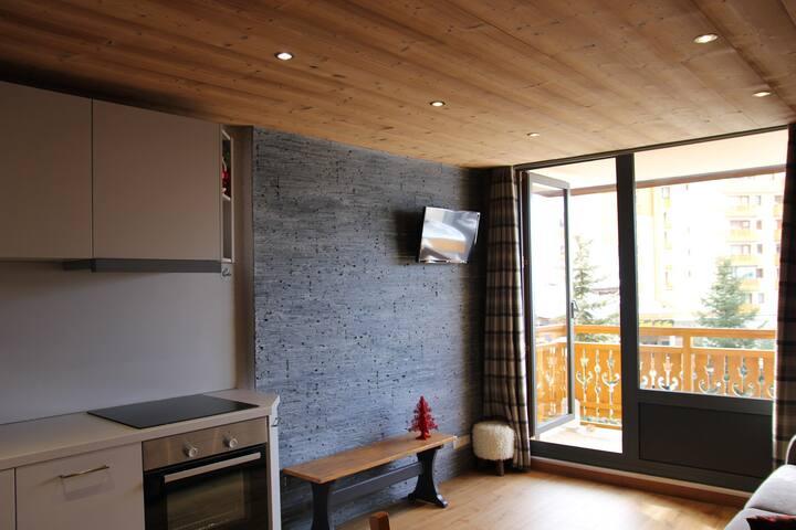5 persons renovated  studio cabin