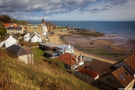 Great for beach-sightseeing-golf ! - Kinghorn