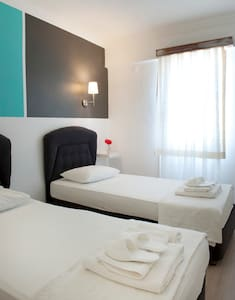 Pudra boutique hotel 2 single beds2