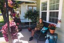 My sweet Matiti visiting from Aruba