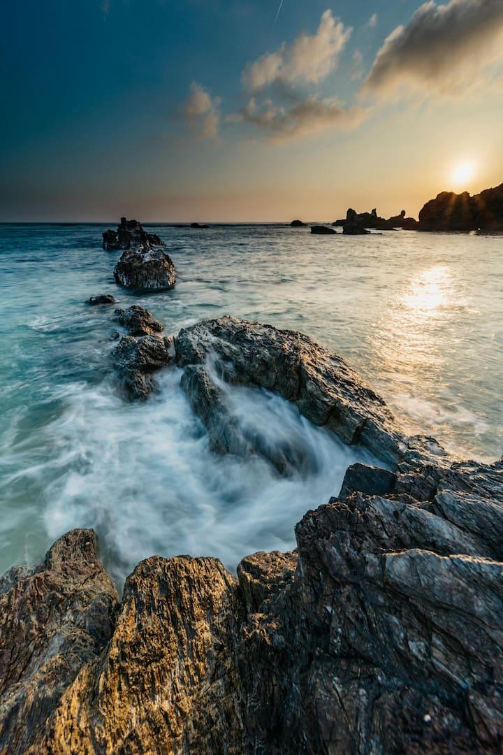 Rocky Coastlines of Northern Okinawa