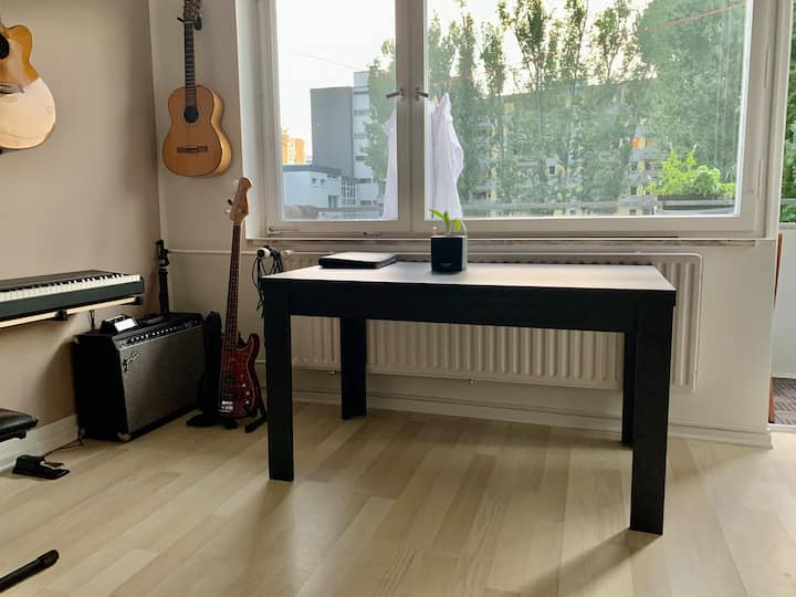 Modernes kleines Apartment im Zentrum Berlins.