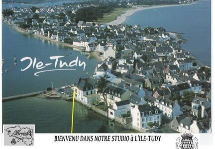 STUDIO LES PIEDS DANS L'EAU - Île-Tudy