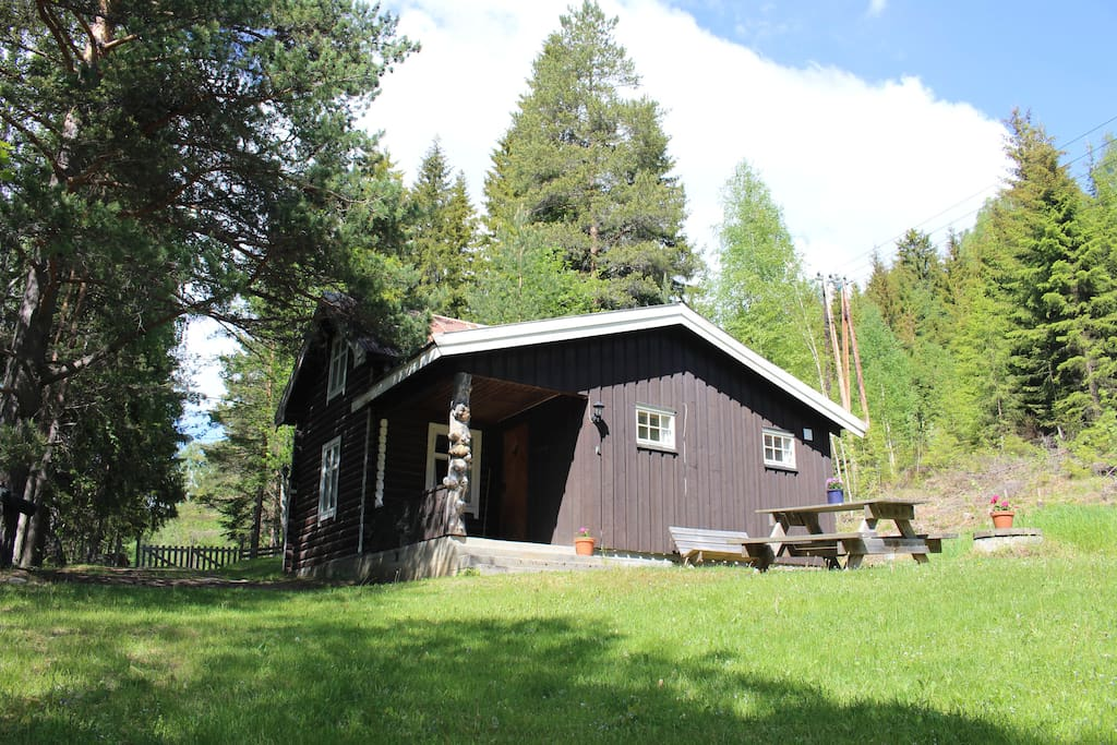 Cosy log cabin in the norwegian woods chalet in affitto for Cabine in affitto in montagna ga