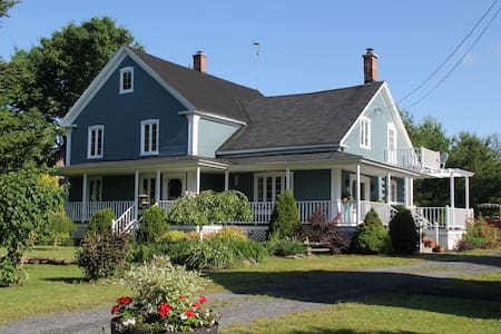La maison bleue - Frelighsburg
