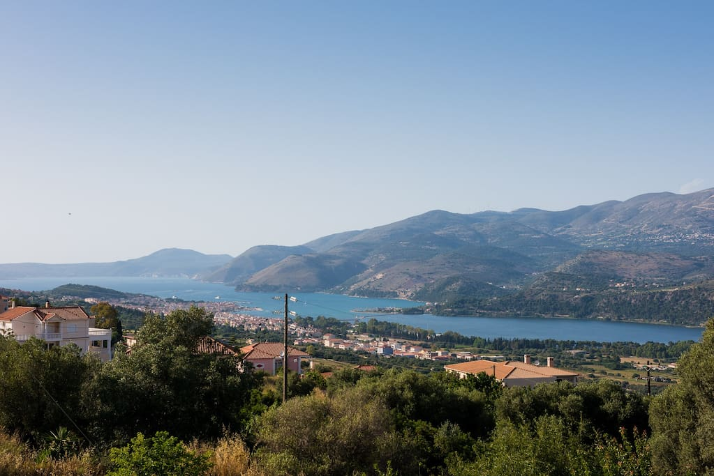 View to the port of Argostoli
