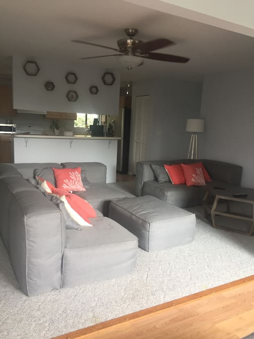 Open living area with plenty of seating.
