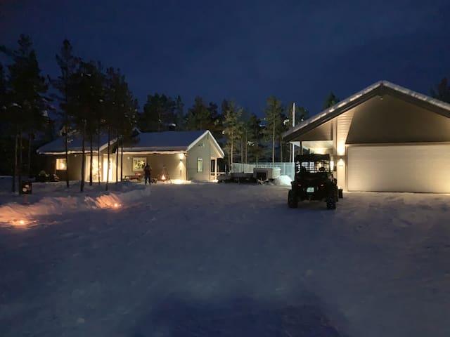 Our cabin Bukkespranget.