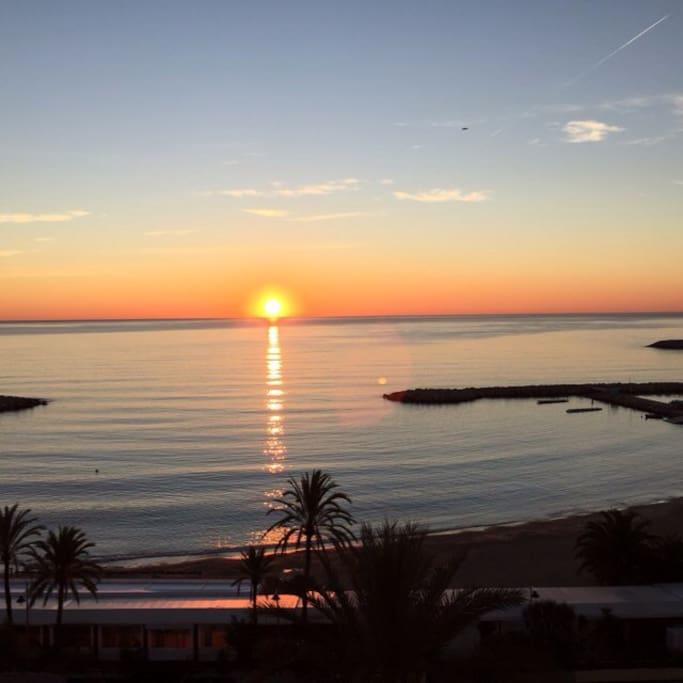 Sunrise - Lever du soleil
