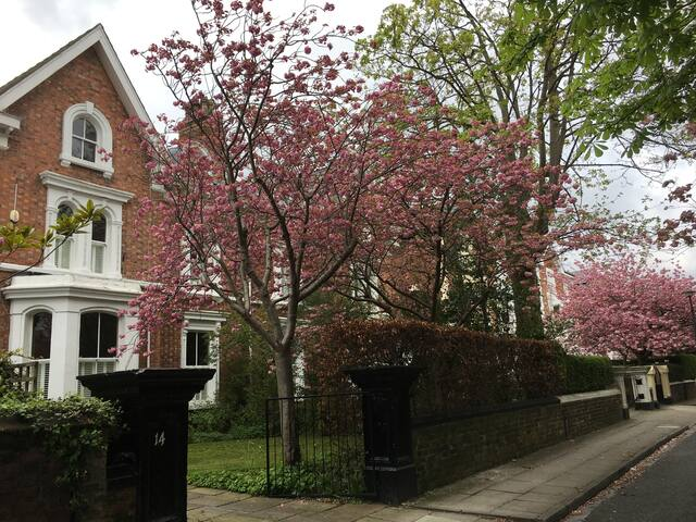 Mersey Lark Lane L17 Quiet area! Modern comfy flat