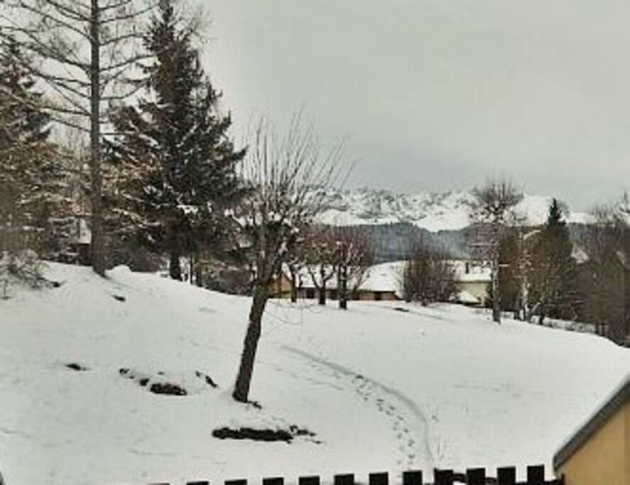 Vue extérieure en hiver
