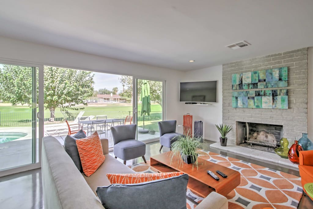 Recently featured on HGTV, this home's interior is bright and inviting.