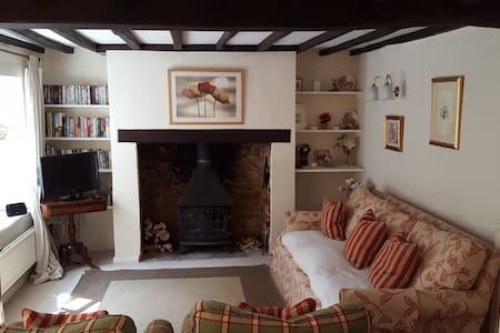 Charming 18th c Cotswolds Cottage - Middle Barton - Hus