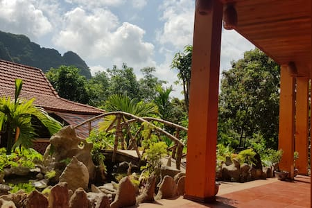 The Mountain View Room at Lan homestay