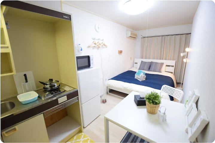 道頓堀・心斎橋まで徒歩10分!cozy room!TS-A