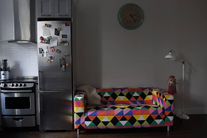Modern Room in a Duplex Loft