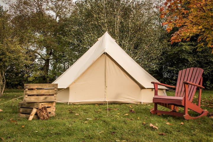 Yippee Tents Standard Glamping @ Sea Sessions 2017 - Bundoran - Tält