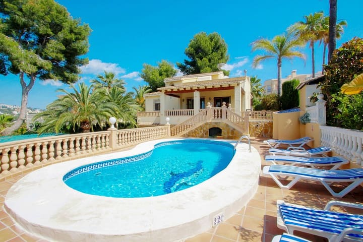 Mar de China - modern, well-equipped villa with private pool in Moraira