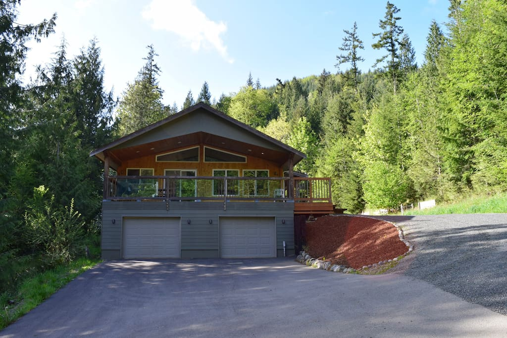 Our lodge is nestled in the forest and provides a peaceful, quiet getaway.