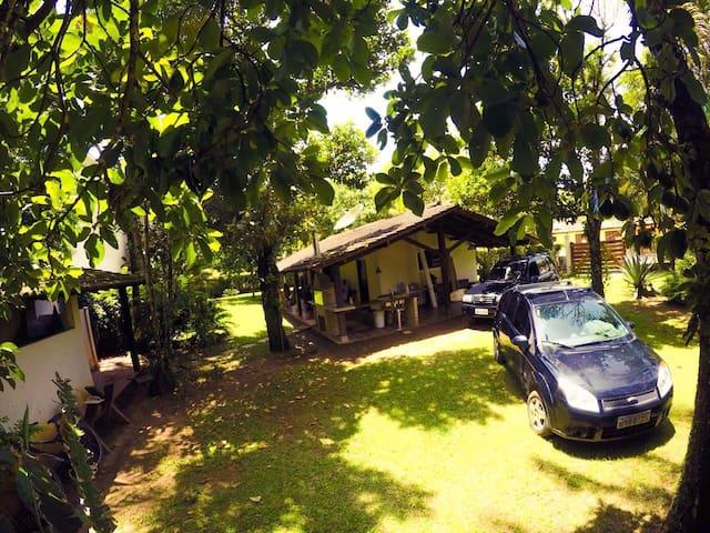 Casa terrea em linda praia=Pauba - Bragança - บ้าน
