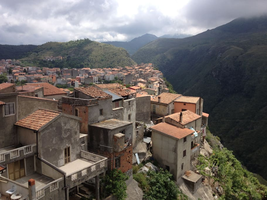 Typical historic Mountain village about 15 minutes drive away.