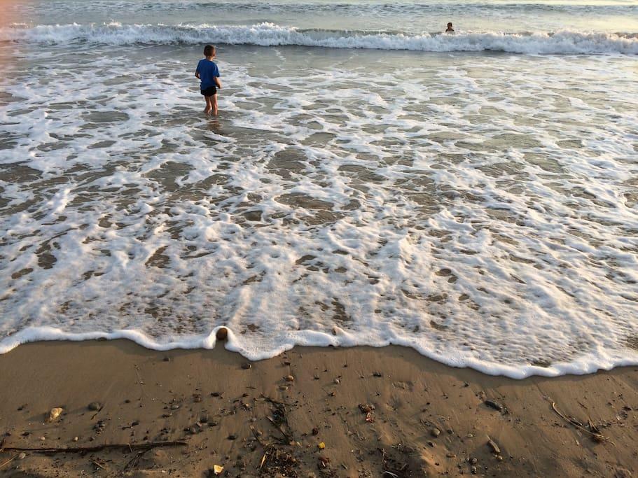 votre plage a 150 mètres de la maison