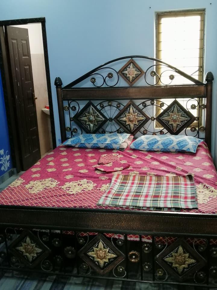 Furnished,peaceful,indepndent 2 bed tvl up portion