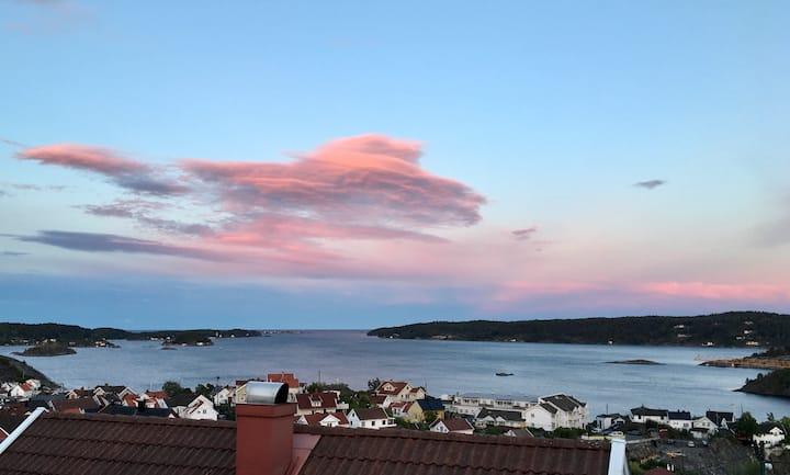 Unik beliggenhet i Kragerø, sentralt og koselig.
