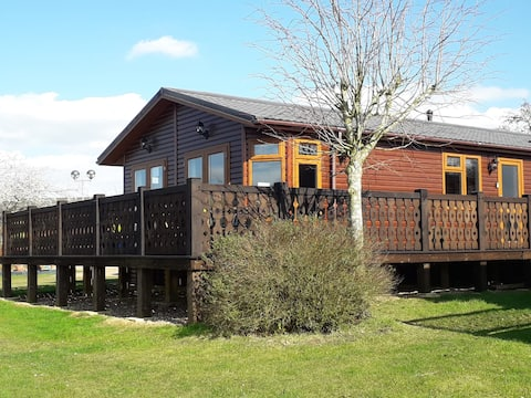 Lakeside Lodge on Carlton Meres country park