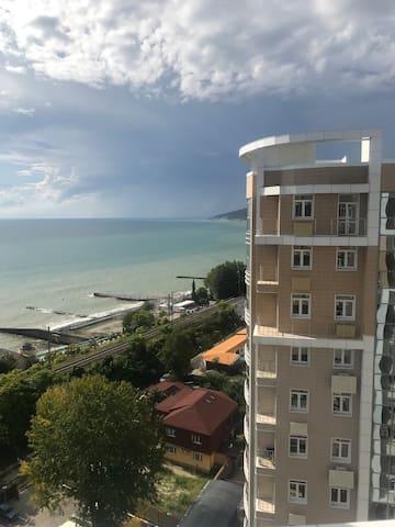 Квартира на самом берегу моря в ЖК Посейдон