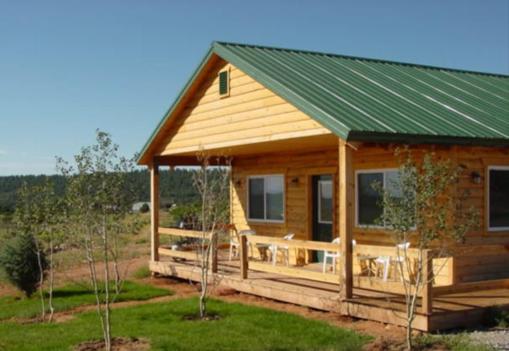 San juan sunrise 3 br 1 near moab cabins for rent in moab utah united states - Mountain cabin plans close to nature ...