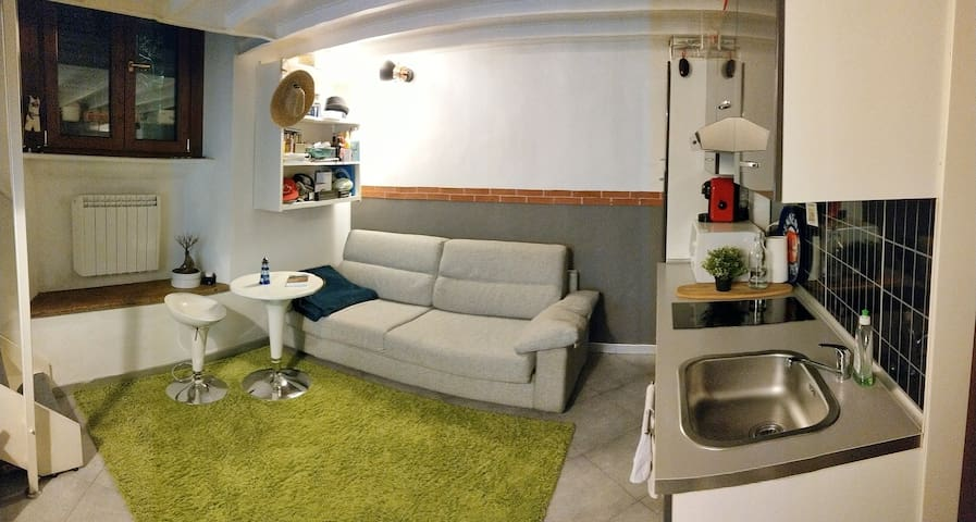 LOFT with two rooms in Milan