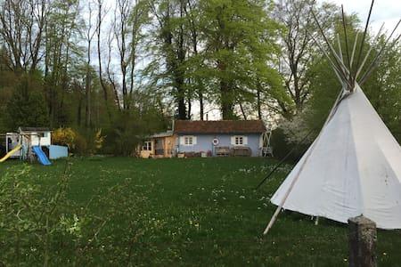 Häuschen am Wörthsee mit Seeblick - Inning - Σπίτι