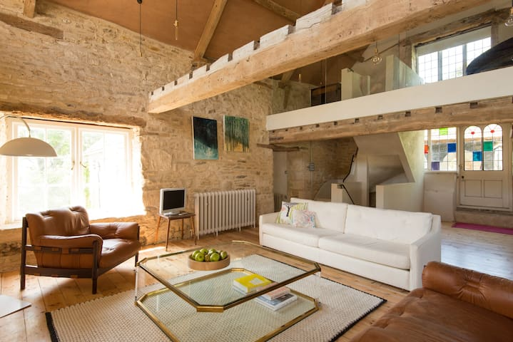Modern Hayloft in Cotswolds