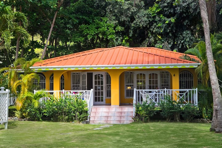 Cottages In Cane Garden Bay 3 Cabins For Rent In Cane