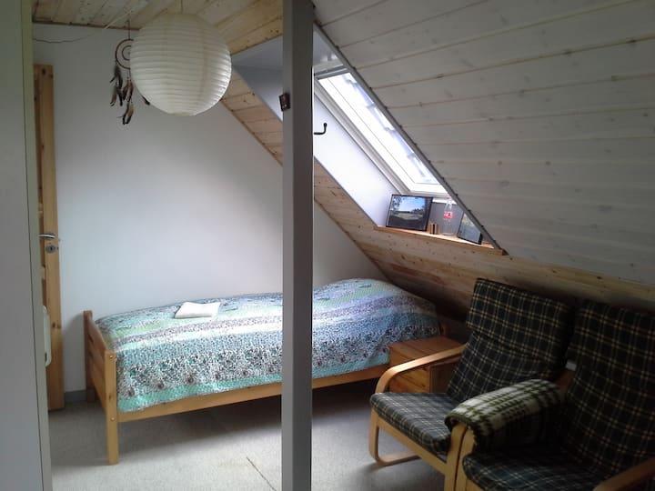 Familie værelse med 3 rum