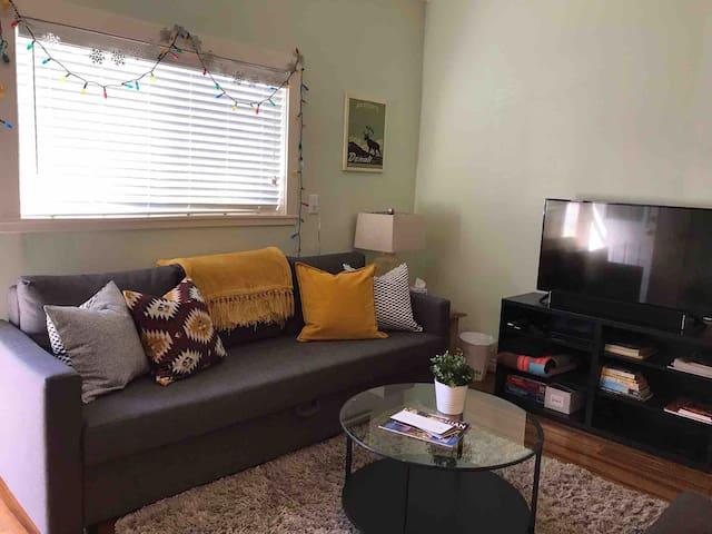 1 bedroom private apartment