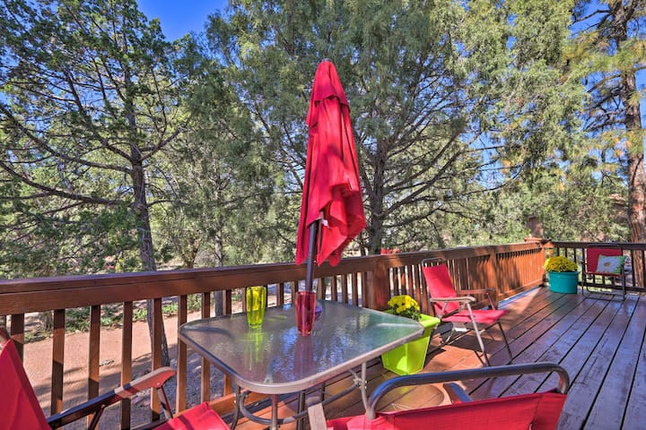 NEW! Payson Escape w/Deck in Tonto National Forest
