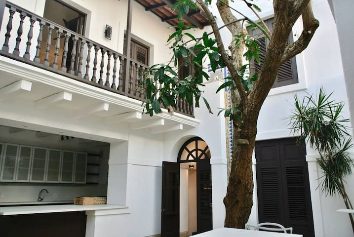 Private Room in Colonial Mansion in Old San Juan