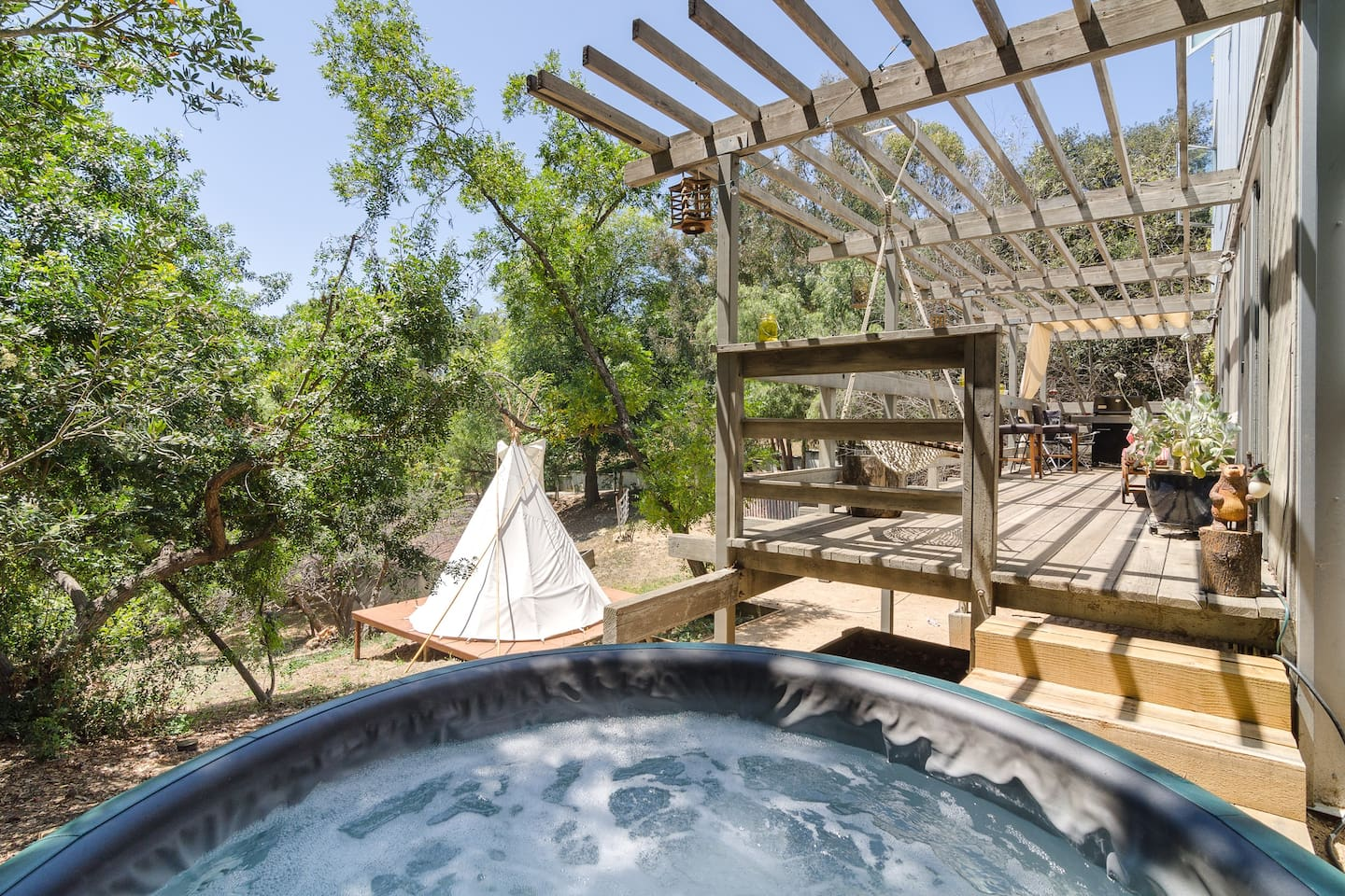 beach canyon authentic tipi glampin tipis for rent in topanga