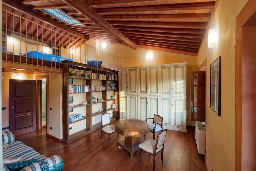 junior suite with loft