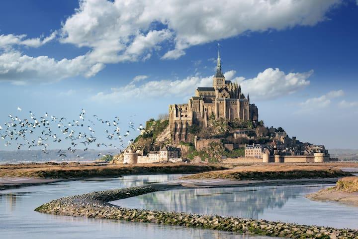 Chambre d'hôte au coeur de la Baie du Mt St Michel