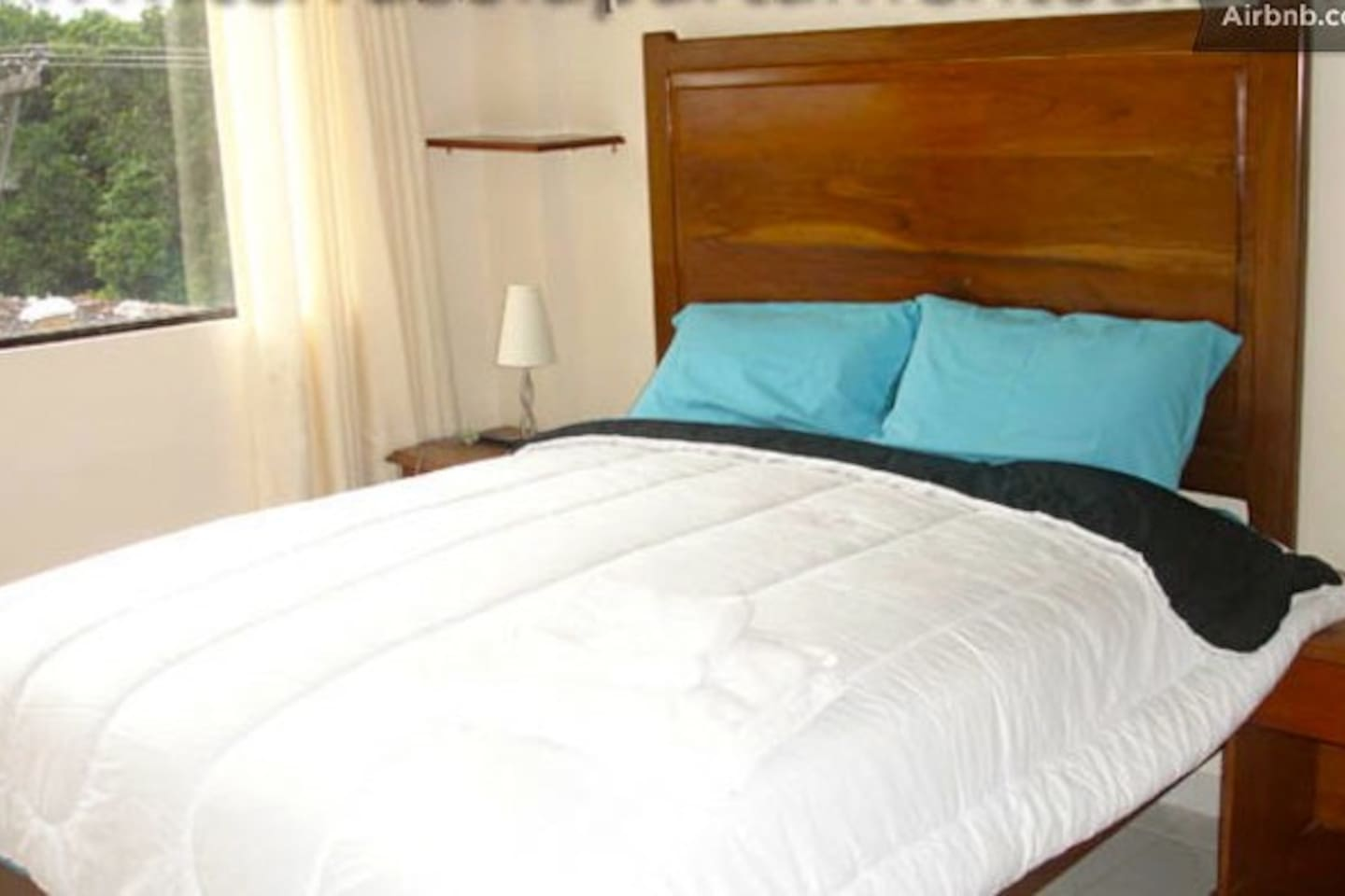 our king size bed   with all the confortb you need