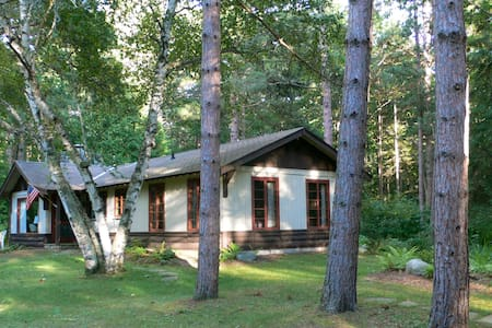 Updated cabin on Lake Michigan - Harbor Springs - Hus