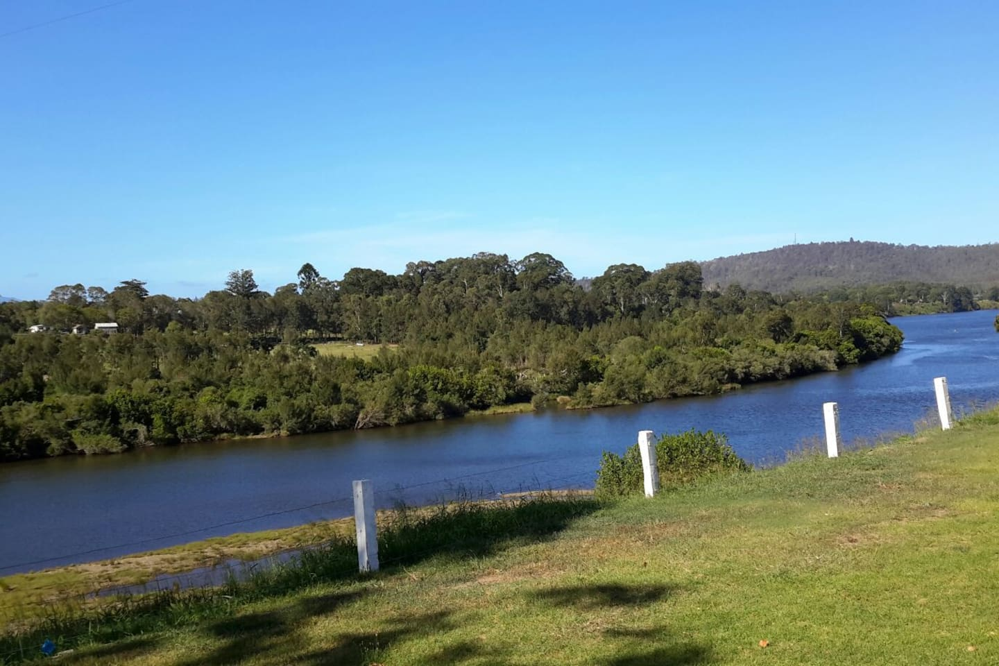 The Manning River right on your door step!