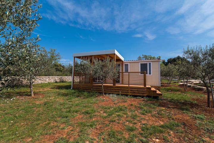 Kamp PUNTA JERTA-AM2-two bedroom two bathroom 5 pax mobile home