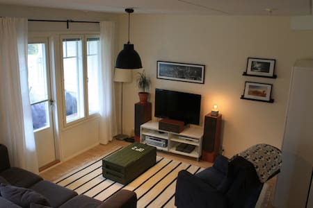 New apartment with own backyard on two floors - Vaasa - Byhus